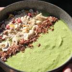 Cashew Green Smoothie Bowl