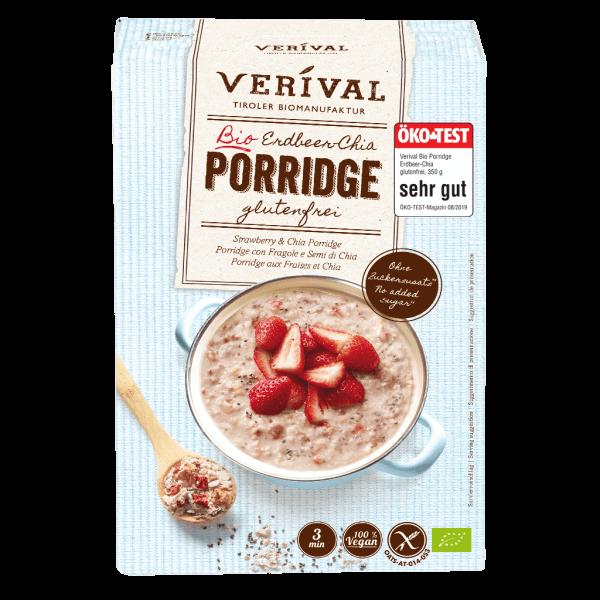 Erdbeer-Chia Porridge