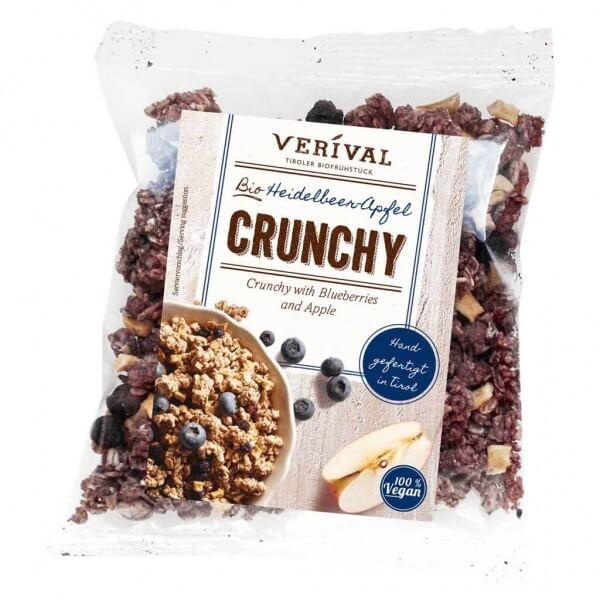 Verival Heidelbeer-Apfel Crunchy 50g