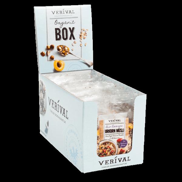 Verival Cereal-Box Beeren Urkorn Müsli 12x 50g
