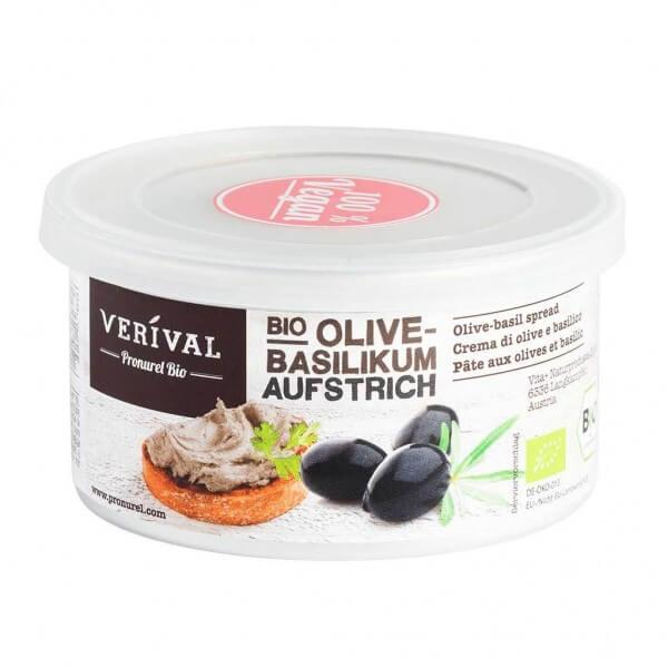 Verival Olive-Basilikum Aufstrich