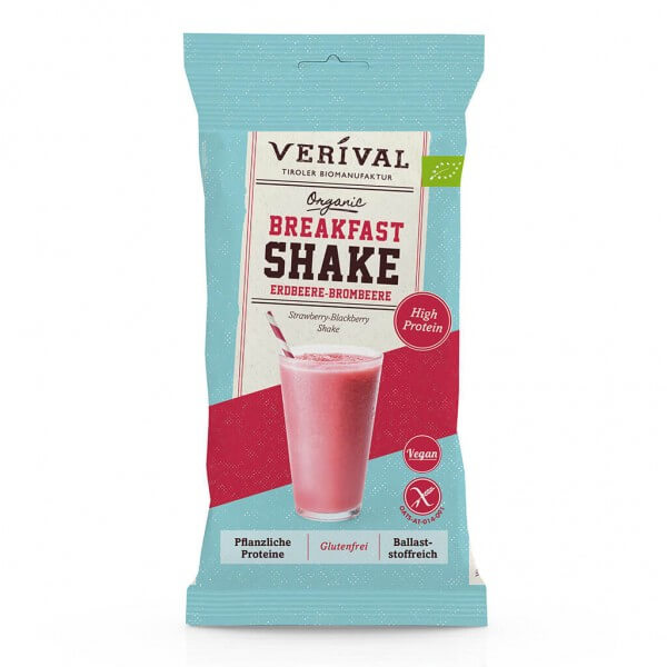 Verival Breakfast Shake Strawberry-Blackberry 35g