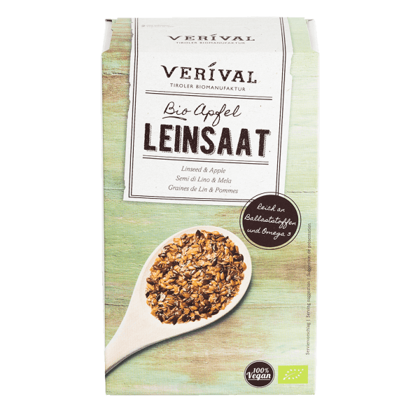 Verival Leinsaat + Apfel