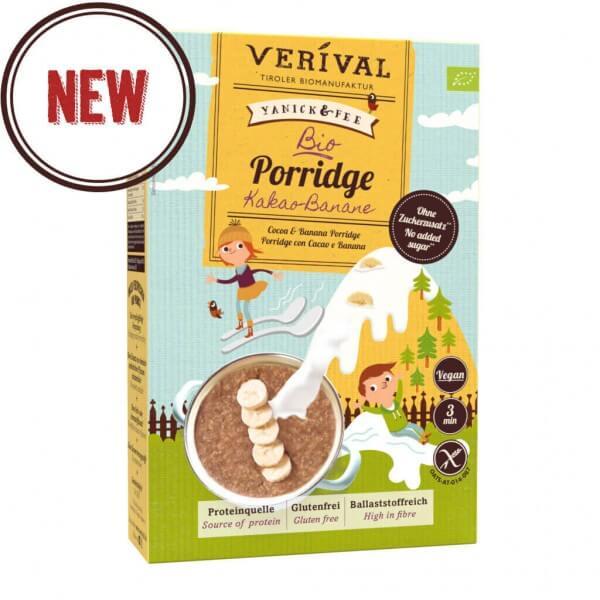 Bio Porridge Kakao-Banane