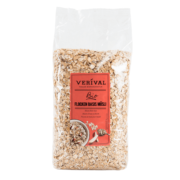 Verival Flocken Basis Müsli 1000g
