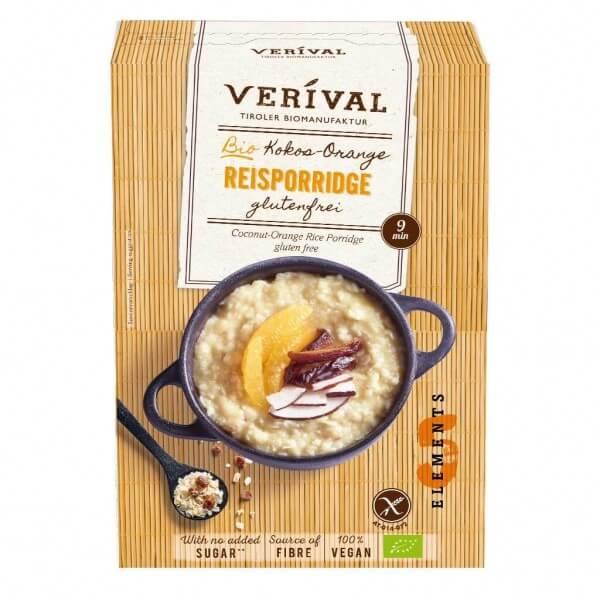Kokos-Orange Reisporridge