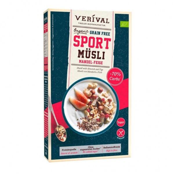 Grain Free Sport Protein Müsli Mandel-Feige