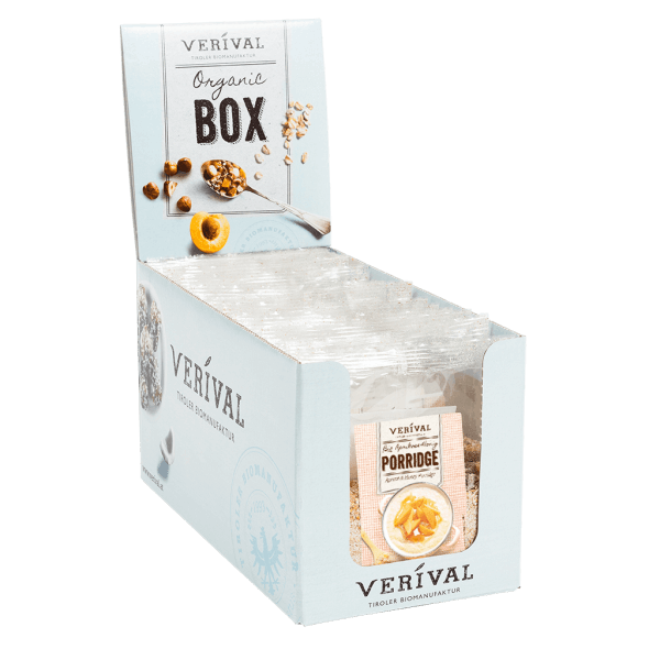 Verival Cereal-Box Marille-Honig Porridge 12x 80g