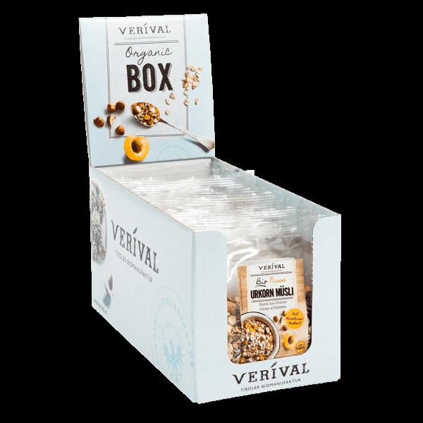 Verival Cereal-Box Nuss Urkorn Müsli 12x 60g