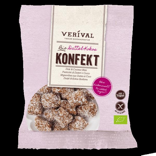 Verival Dattel-Kokos Konfekt 40g