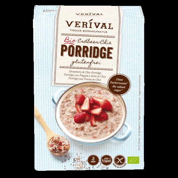 Verival Erdbeer-Chia Porridge