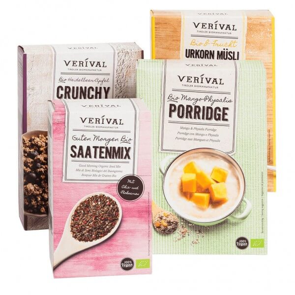 Verival Frühstückspaket Vegan´s Choice