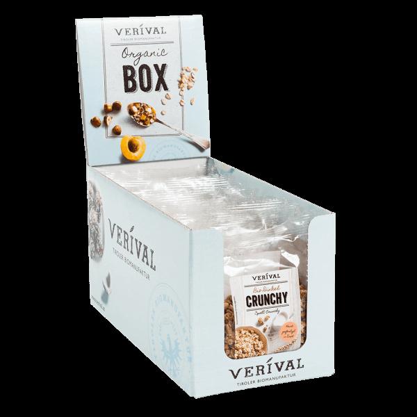 Verival Cereal-Box Dinkel Crunchy 8x 70g