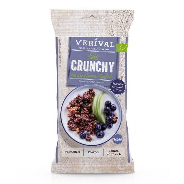 Verival Crunchy muesli with blueberries and apple 50g