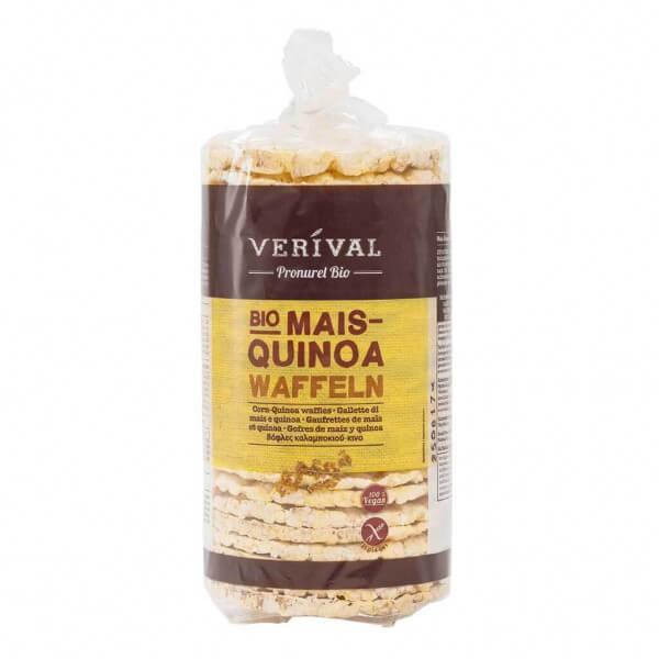 Verival Mais-Quinoa Waffeln