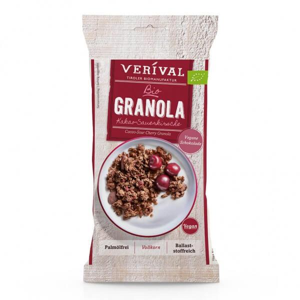 Verival Kakao-Sauerkirsche Granola 45g