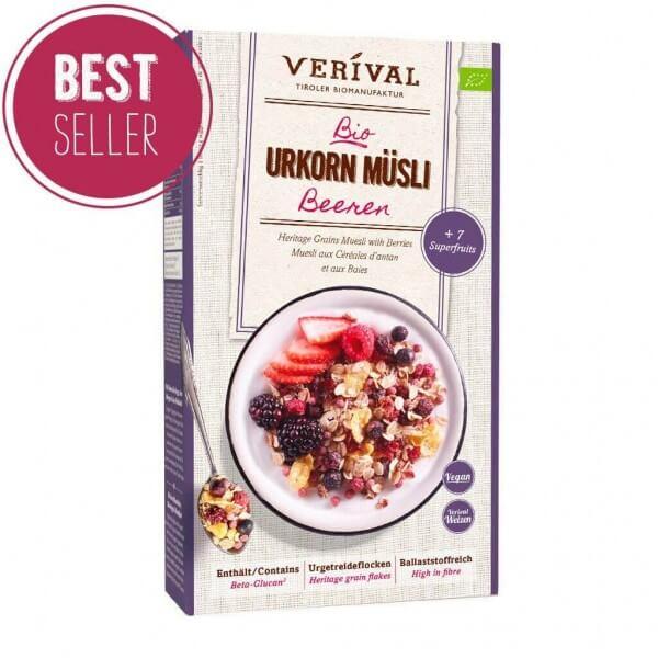 Heritage Grains Muesli with Berries 325g
