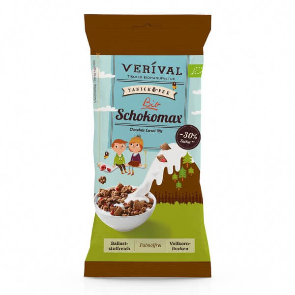 Verival Chocolate Cereal Mix 45g